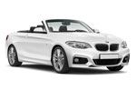 BMW 2 Series Cabrio - 4 Seats