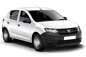 Dacia Sandero with GPS