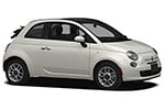 Fiat 500 Cabrio - 4المقاعد