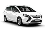 Opel Zafira - 5/7sæder
