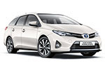 Toyota Auris Estate - 5المقاعد