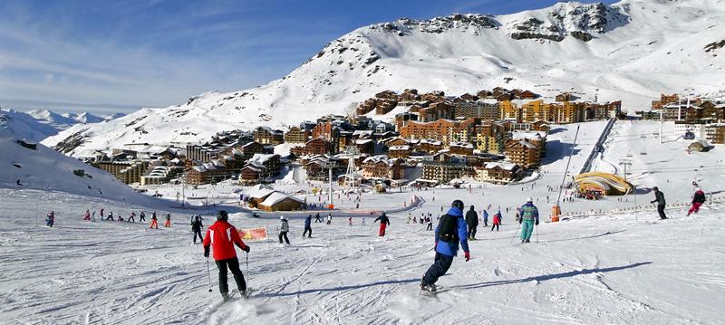 resort round up skiing in val thorens france. Black Bedroom Furniture Sets. Home Design Ideas